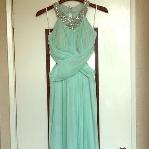 B. Darlin Juniors Full Length Dress